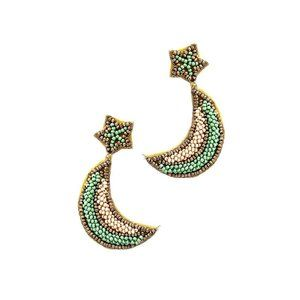 GioVanni Di Rocco Earring Trendy Beaded Star&Moon
